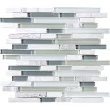 mosaic glass stone linear blend iceland