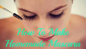 homemade mascara lush lashes the diy