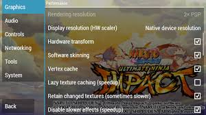 The Best PPSSPP Game Setting Of Naruto Shippuden Ultimate Ninja Impact -  Free Download PSP PPSSPP Games, Android Ganmes