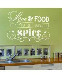 Sweet Savings On Love Food Wall Decal Quote Pink 79 X47