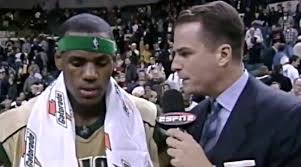 LeBron, Jay Bilas Miss Their Hair From James' First National TV Game