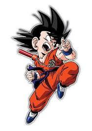 Dragon Ball Z Son Goku Jr Anime Car Window Decal Sticker 010 Anime Stickery Online