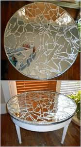 diy ideas to upcycle broken mirrors