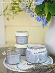 how to make lavender candles town