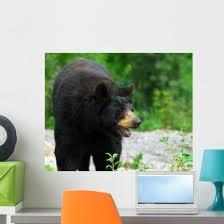 Black Bear Wall Decal Wallmonkeys Com