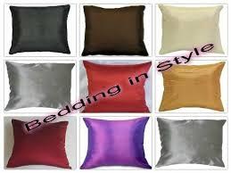 43cm x 43cm ravello faux silk cushion