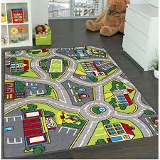 Learning Carpets City Life Play Carpet 5 X 7 New Kids Rugs Great For Playing With