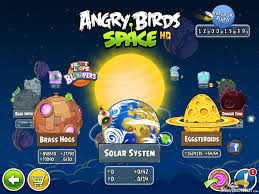 Angry Birds Space Solar System Episode Selection Screen ...