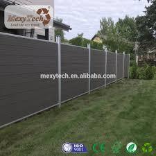 Modern Outdoor Garden Aluminum Wpc Composite Fence Panels Fence Panels Fence Design Fence