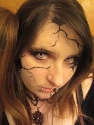 broken doll makeup weasyl