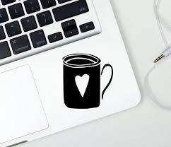 Coffee Cup Decal Coffee Lovers Gift Tea Lover Gift Gift For Etsy