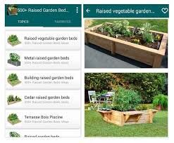 raised garden beds ideas pour android