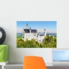 Famous Neuschwanstein Castle Fairy Tale Wall Decal Wallmonkeys Com