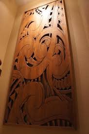 wood wall art eclectic hall
