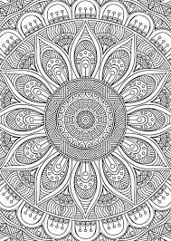 Didzioji Mandalu Knyga Imagenes De Mandalas Libro De Colores