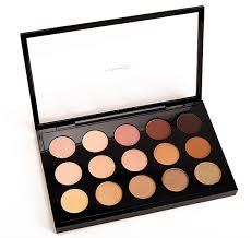 mac eyeshadow x 15 warm neutral palette