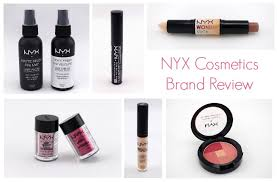 nyx cosmetics brand review anverelle