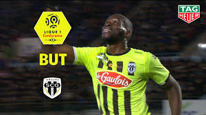 But Wilfried KANGA (35') / RC Strasbourg Alsace - Angers SCO (1-2)  (RCSA-SCO)/ 2018-19 - YouTube