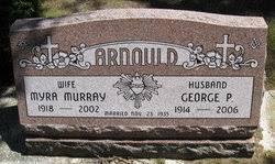 Myra Murray Arnould (1918-2002) - Find A Grave Memorial