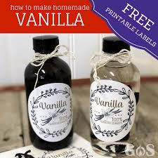 how to make vanilla extract recipe from