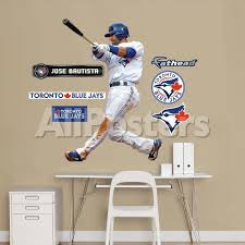 Toronto Blue Jays Jose Bautista 2012 Jr Wall Decal Sticker Wall Decal Allposters Com