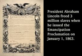 Image result for the Emancipation Proclamation,