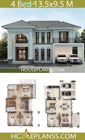 house plans design idea 13 5x9 5 with 4