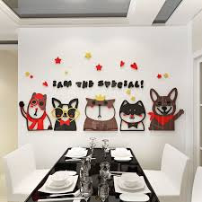 Wall Decor Amaonm Cartoon Cute Cat On The Tree Branches Wall Decals Removable Kitty Wall Stickers