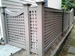 How To Build A Wood Lattice Fence Lattice Fence Lattices And Fence Lattice Fence Living Fence Fence Design