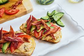Open Face Crab Sammies with Bacon ...
