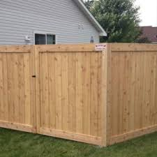 Custom Ceder Wood Fences Croix Area Fence