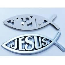 3d Silver Jesus Fish Emblem Religious Faith Badge Car Decal Sticker Universal Other Car Truck Exterior Parts Auto Parts And Vehicles Tamerindsa Com Ar