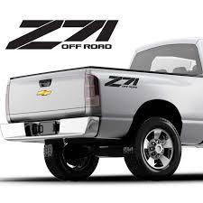 For 2pcs Z71 Offroad Vinyl Decal Sticker Chevy Chevrolet Silverado Custom Design Car Stickers Aliexpress