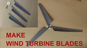 make mini wind turbine propeller blades