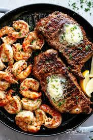 Garlic Butter Grilled Steak & Shrimp ...