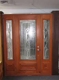 add elegant style to exterior doors