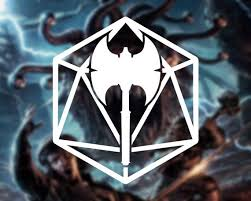 Dnd Barbarian Symbol In D20 Vinyl Decal Car Decal Laptop Etsy