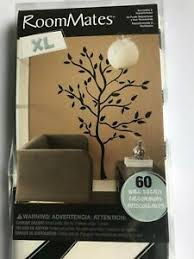 New Roommates Xl Giant 60 Wall Decals Black Tree Branches Leaves Mural Stickers 9789027725851 Ebay