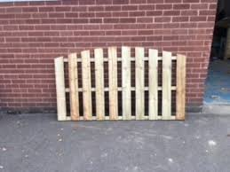Single Sided Wooden Palin Fence Panels S T Fencing Timber Products