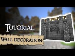 to decorate meval walls