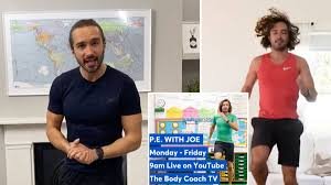 Joe Wicks holding live PE lessons for ...