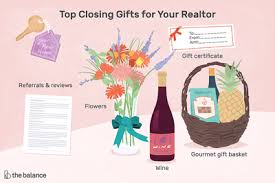 gifts to give your realtor after closing
