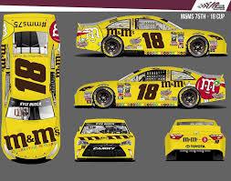 2016 Nascar Sprint Cup Series Paint Schemes Team 18 Jayski S Nascar Silly Season Site