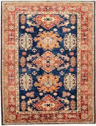 navy blue 6 1 x 8 kazak oriental rug