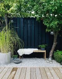 paint it black outdoors garden