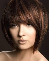 قصات شعر قصير بني