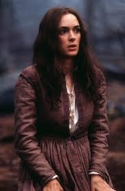 Winona Ryder as Abigail Williams. The Crucible is definitely in ...