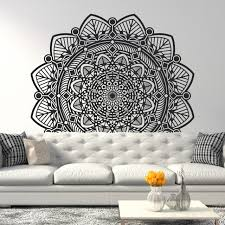 The Taj Mandala Wall Decal
