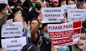 After Hong Kong Protesters Appeal to US, China and Hong Kong ...