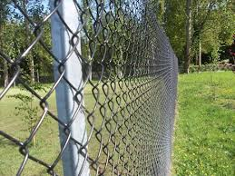 Chain Link Fencing Hill Trident